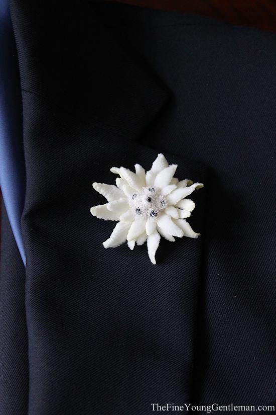 fake lapel flowers