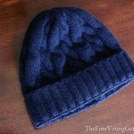 wool cableknit hat johnstons of elgin