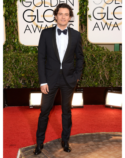 mens style at 2014 golden globes