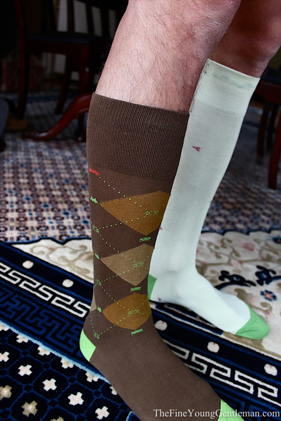 space invader socks