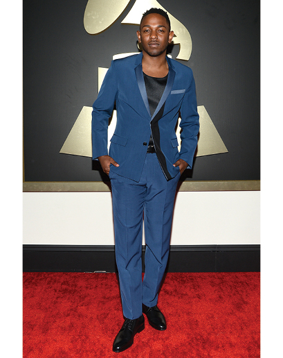 But then we have whatever the hell Kendrick Lamar is wearing.