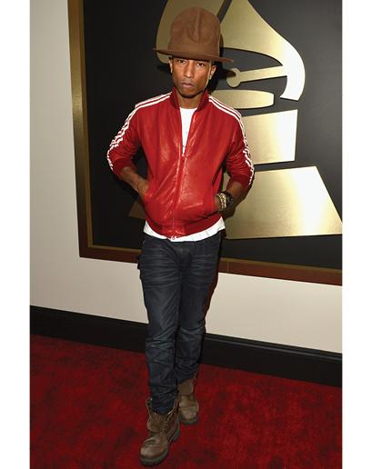 Pharrell has gotten a to