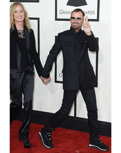 Is Ringo Starr seriously wearing Shape Ups?