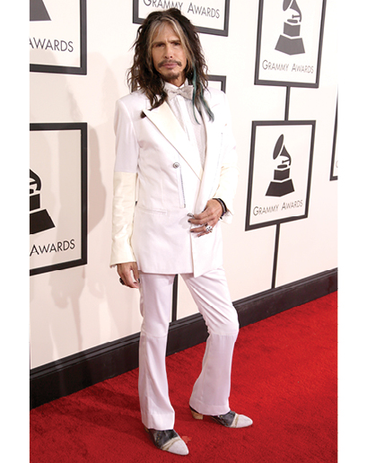 But perhaps nothing is more offensive to my eyes than Steven Tyler's
