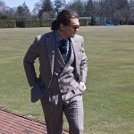 tweed prince of wales 3 piece suit