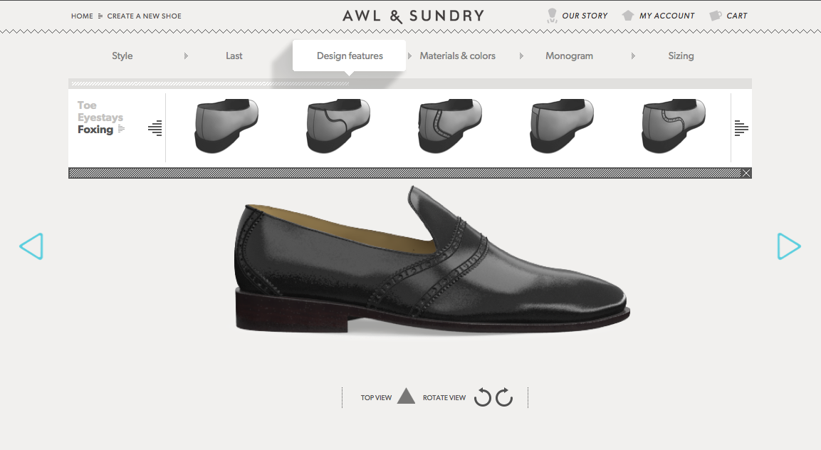 awl and sundry custom shoe review