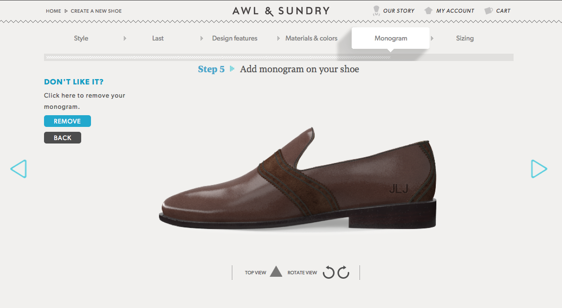 awl and sundry custom mens shoes