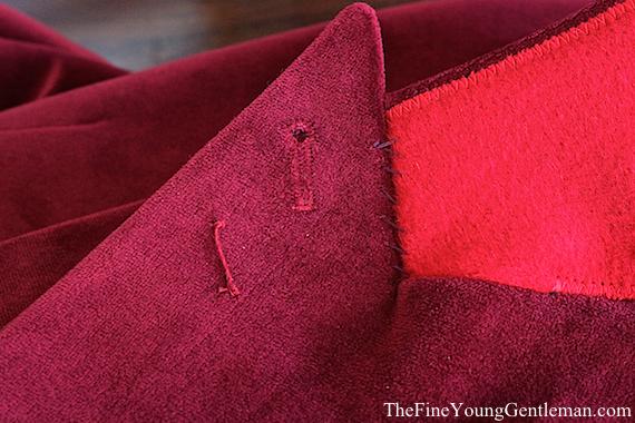 custom velvet jacket