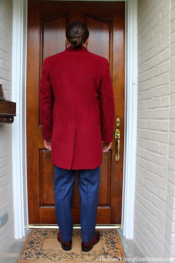 matthew aperry custom overcoat review