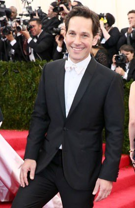 There were also some men, like Paul Rudd, who seemed to think that white tie means wearing a tuxedo with a white bow tie.