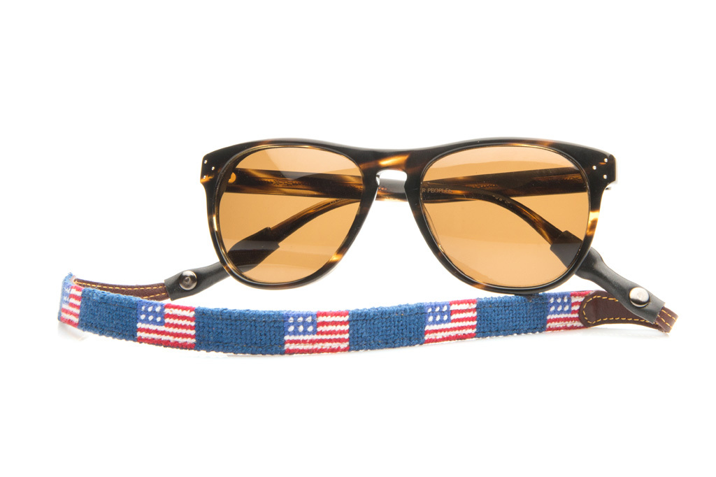 tucker blair american flag croakies