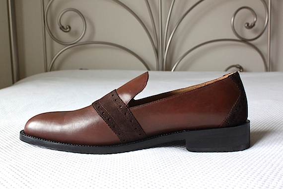 awl and sundry loafer side view