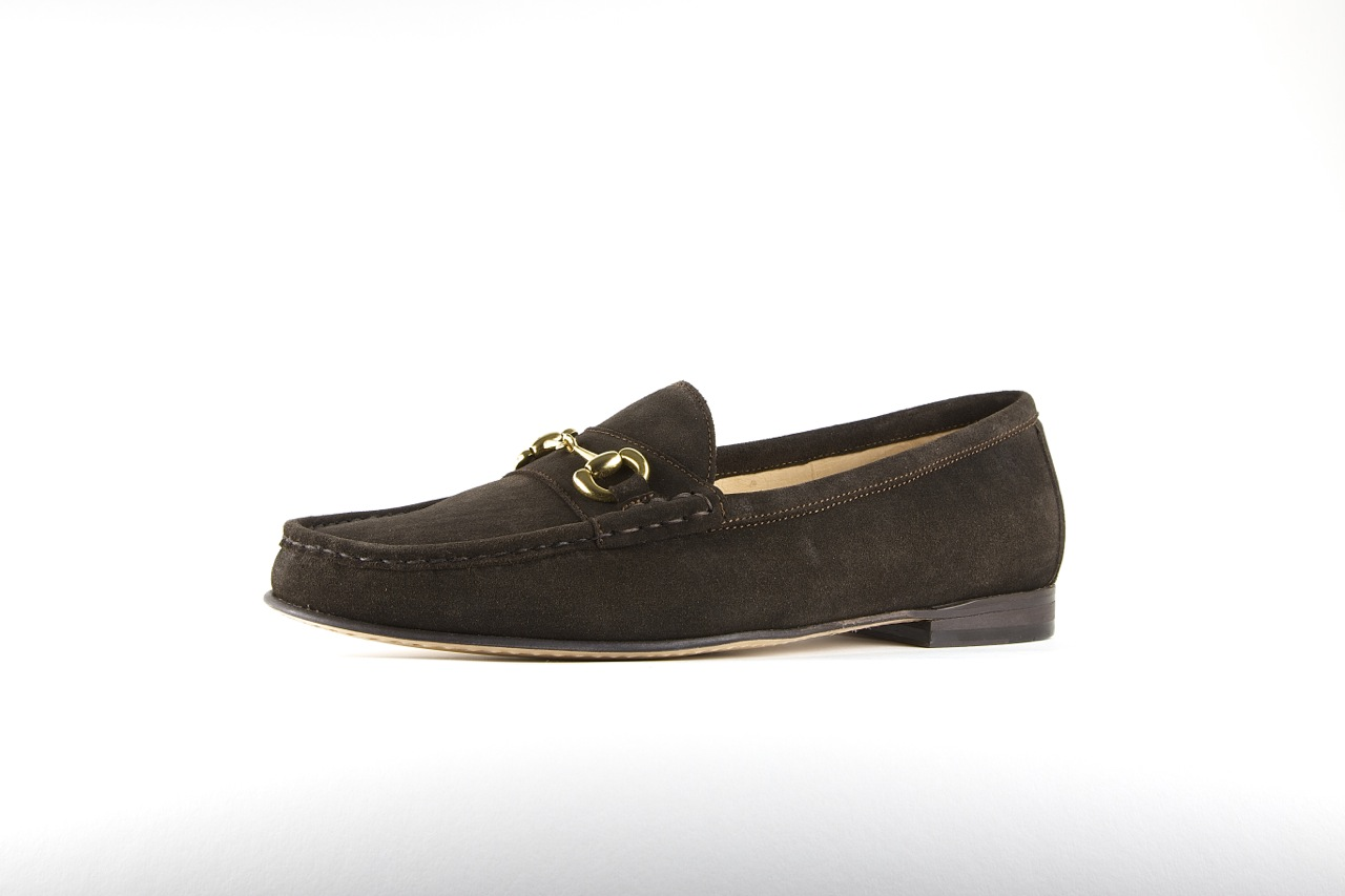 jay butler bit loafer brown suede