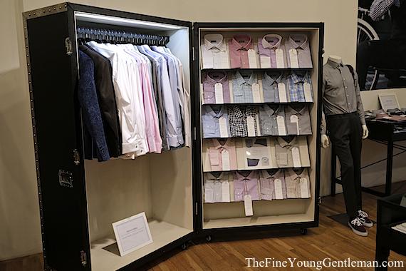 indochino nyc store shirts