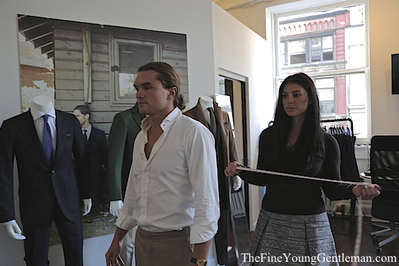 knot standard nyc store fitting