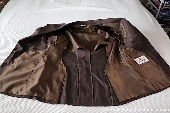 ravis mtm suit jacket inside