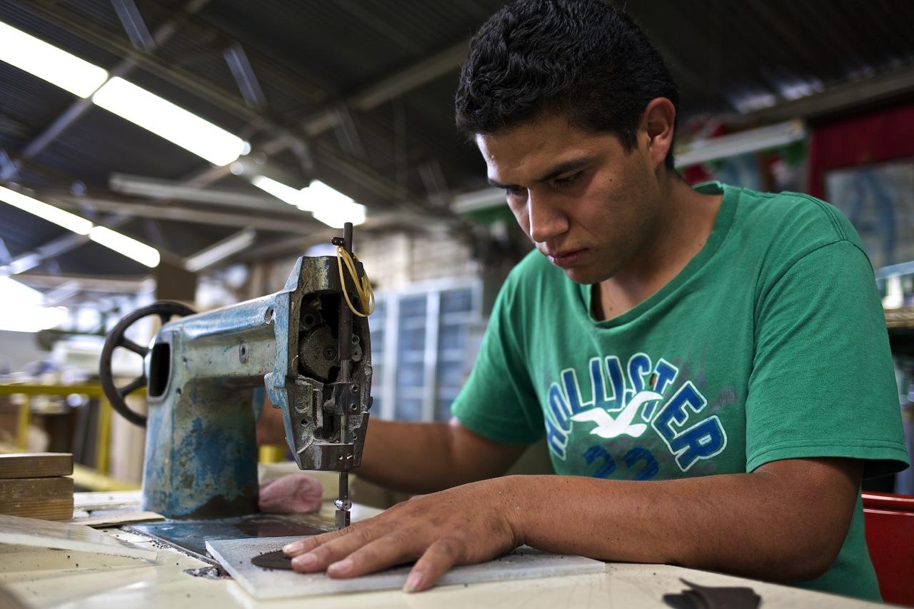 jay butler shoe workshop worker