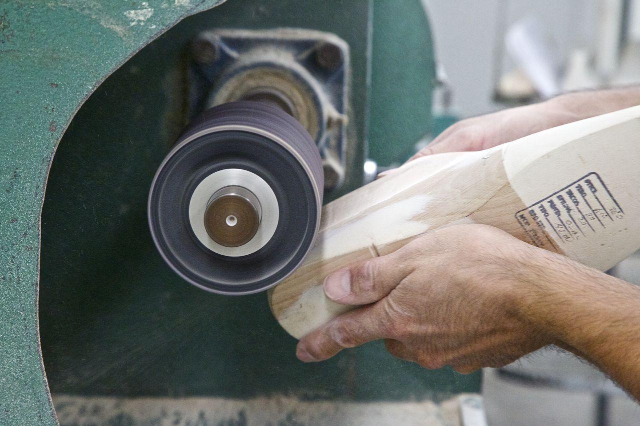 wooden shoe last sanding - jay butler