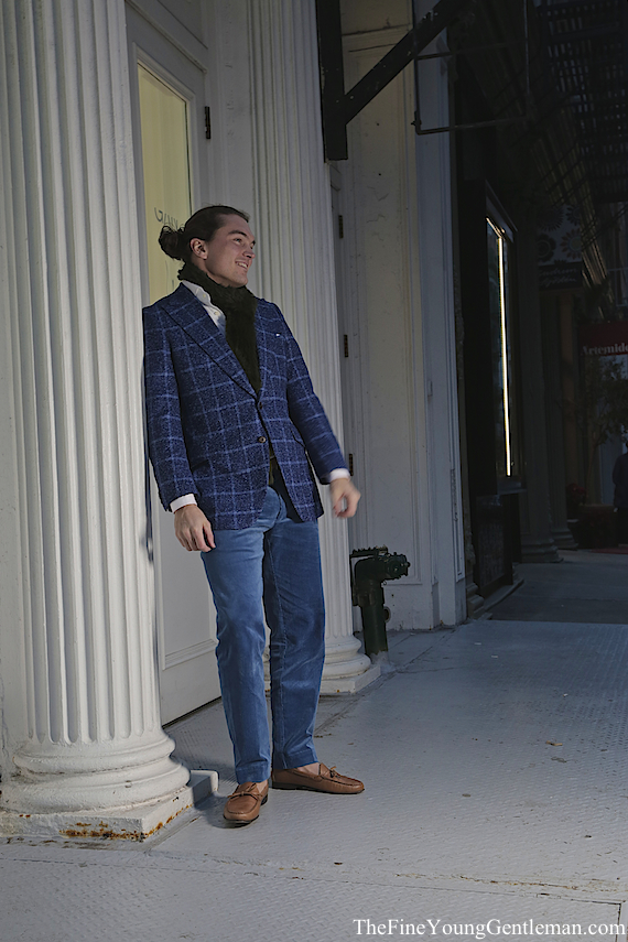knot standard tweed jacket