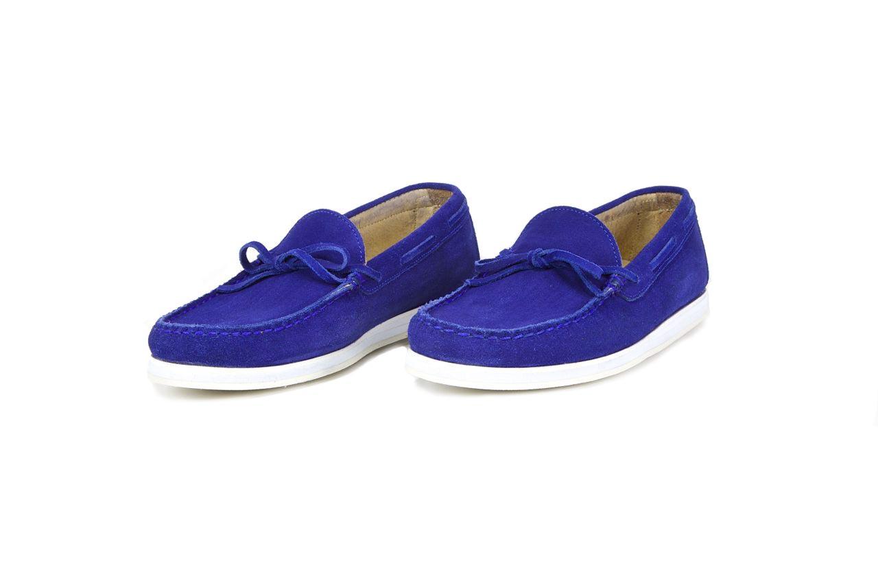 jay butler royal blue driving loafer sample