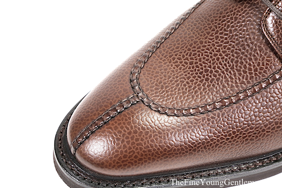 cobbler union split toe stitching
