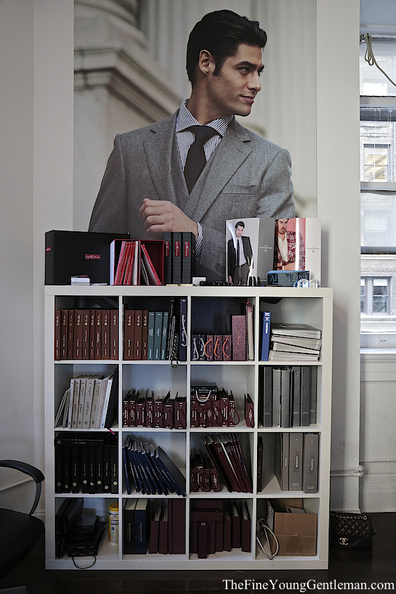 knot standard nyc store fabric books