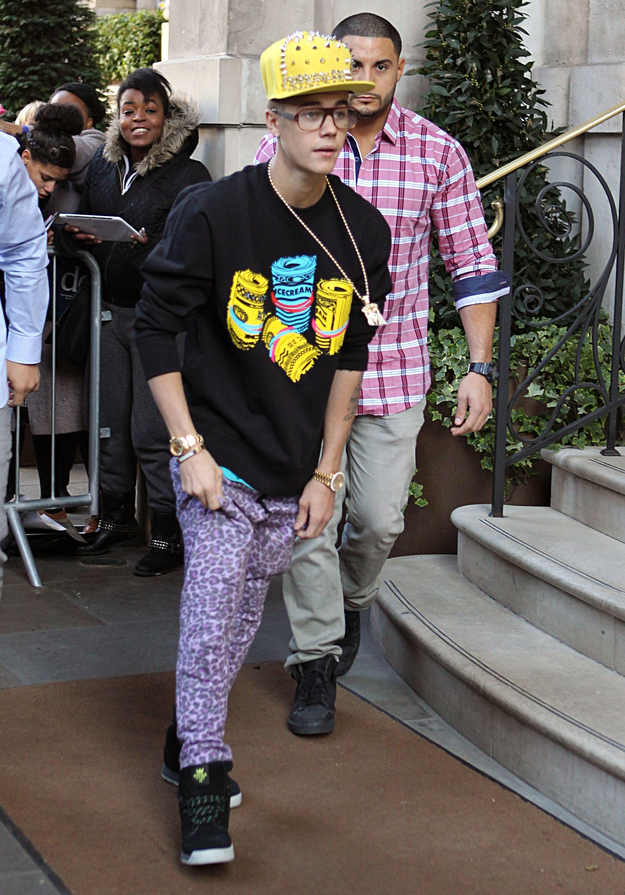 justin bieber terrible style