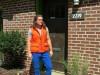 mens summer layering orange vest 2