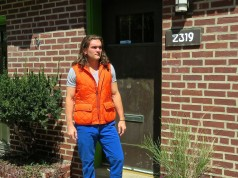 mens summer layering orange vest 2