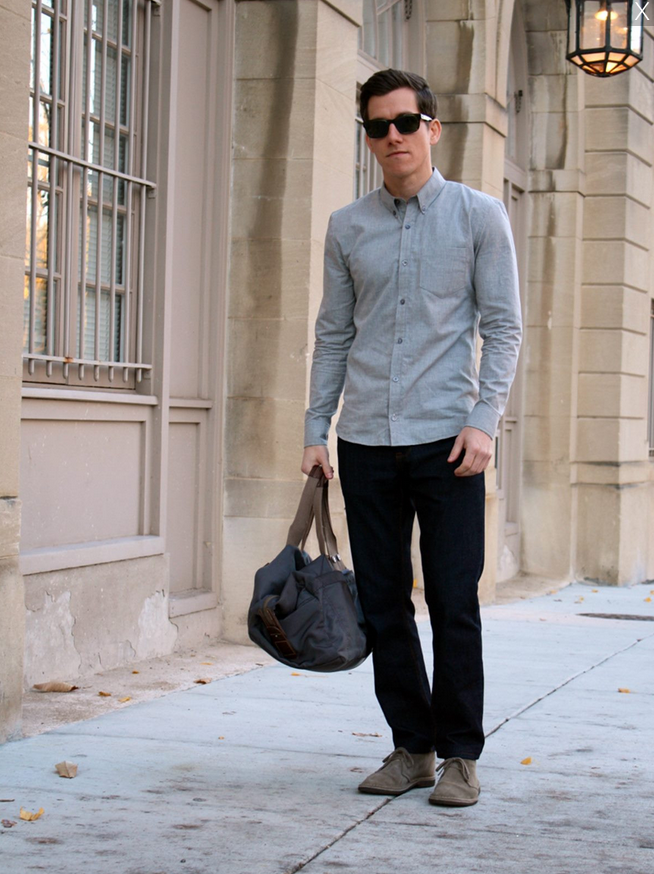 modest man casual shirt