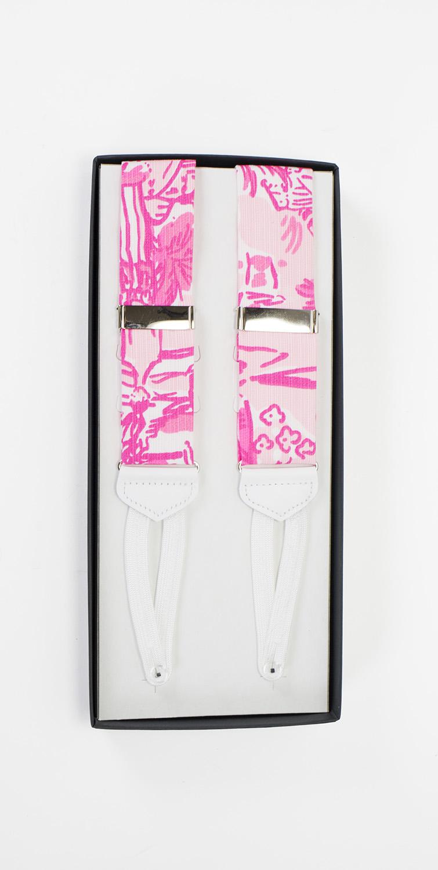 rule breakers pink lilly pulitzer suspenders