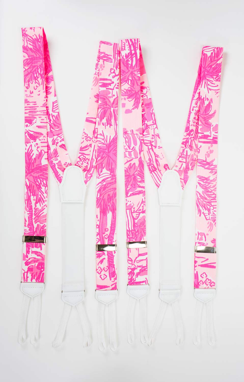 rule breakers pink suspenders lilly pulitzer suspenders