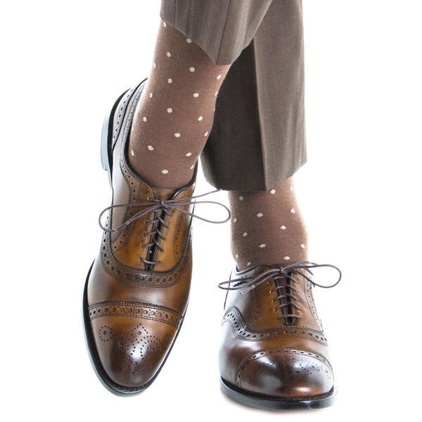 dapper-classics-brown-socks