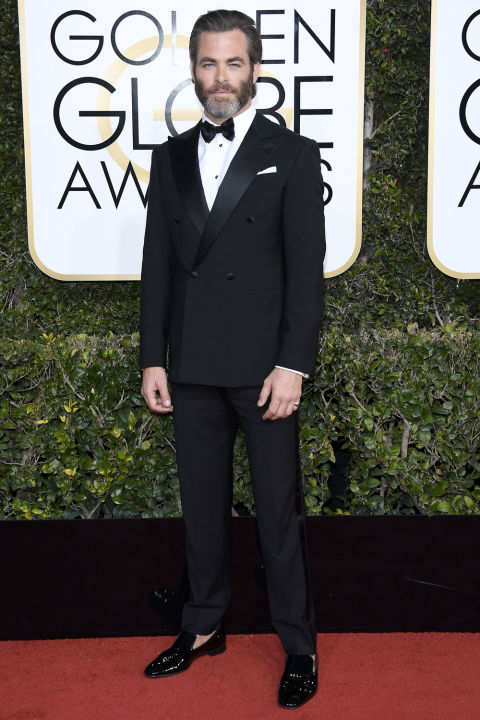 chris-pine-golden globes 2017