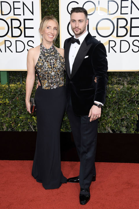 aaron-taylor-johnson-golden globes 2017
