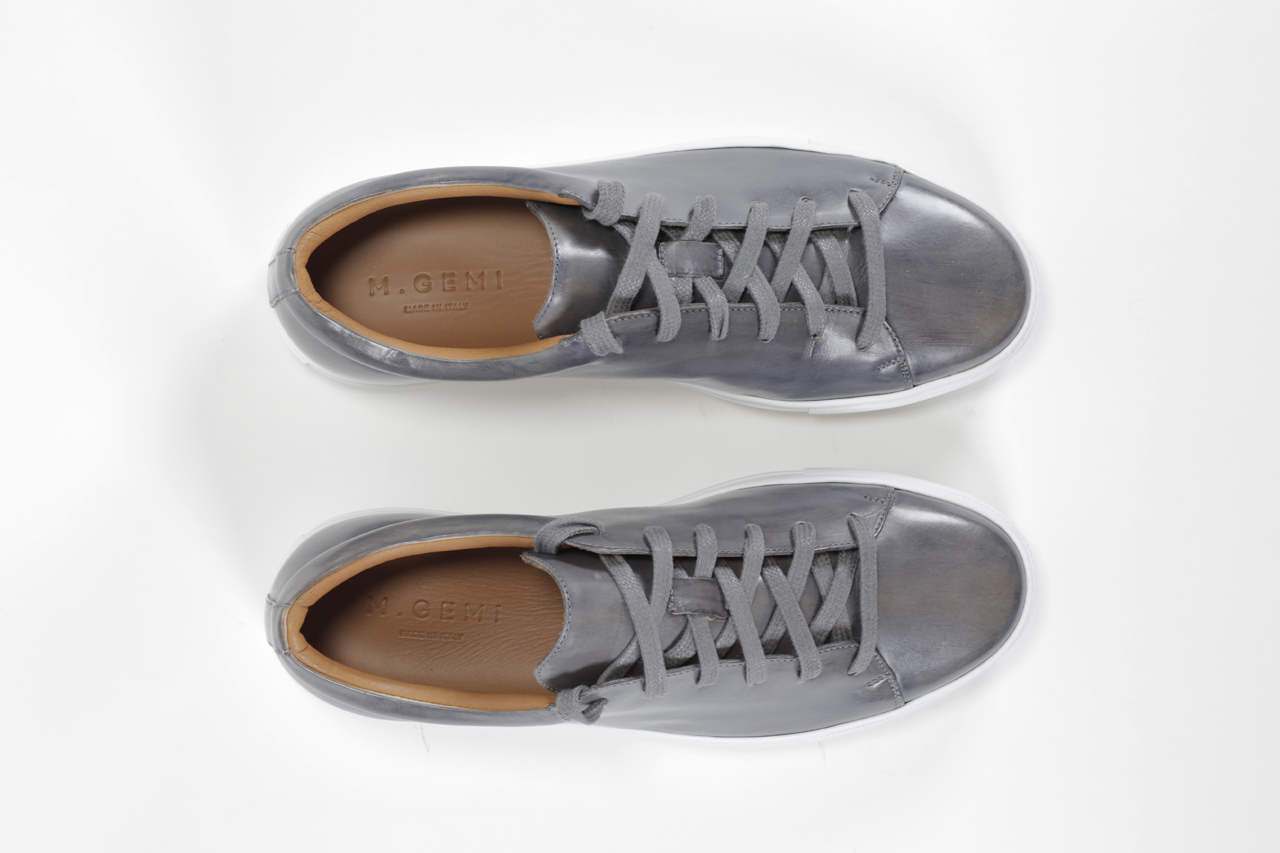 m gemi leather sneaker review
