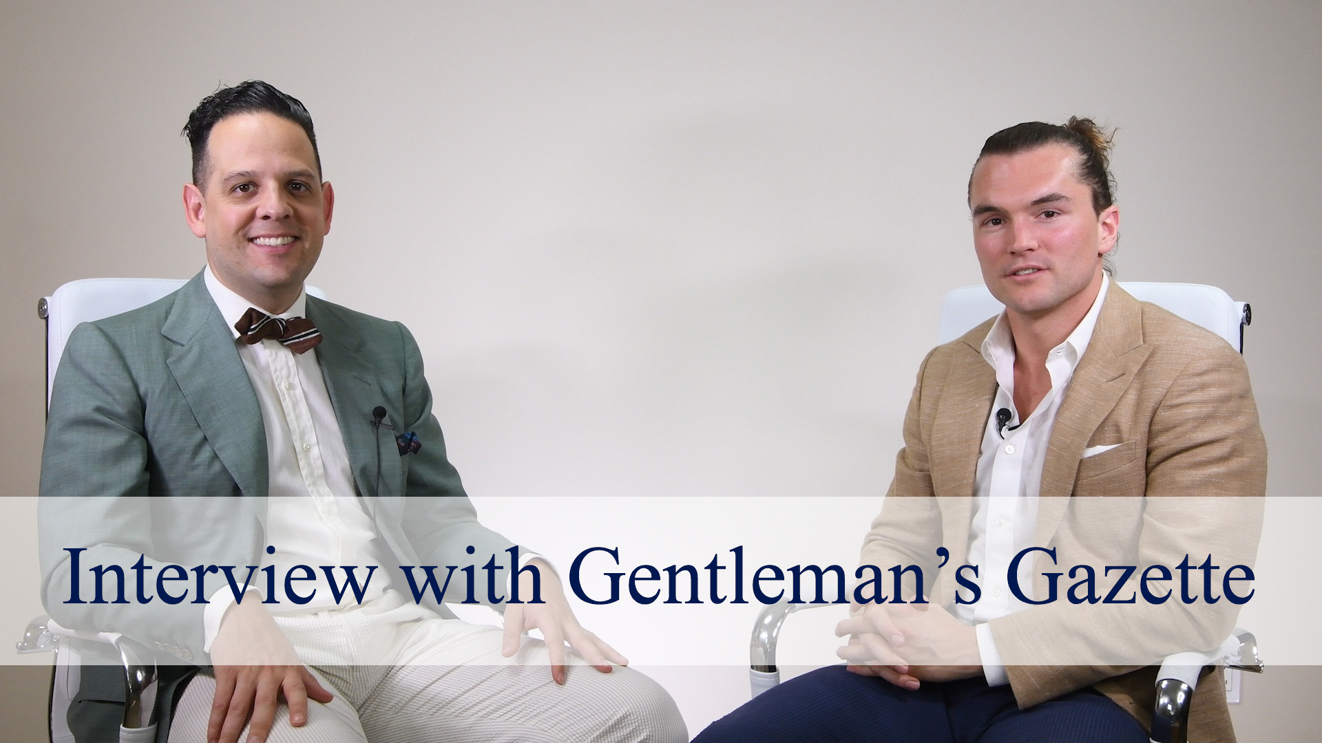gentlemans gazette interview