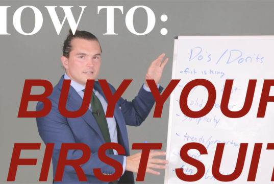 how to buy your first suit thumbnail