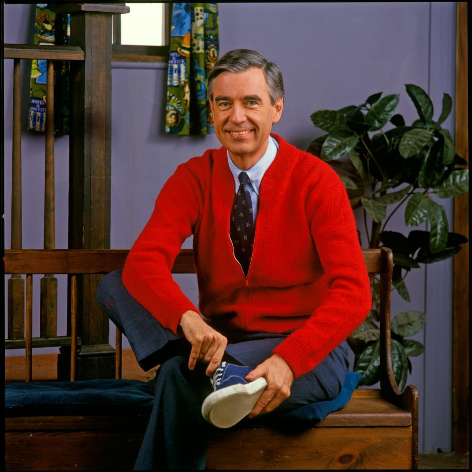 mr rogers red sweater