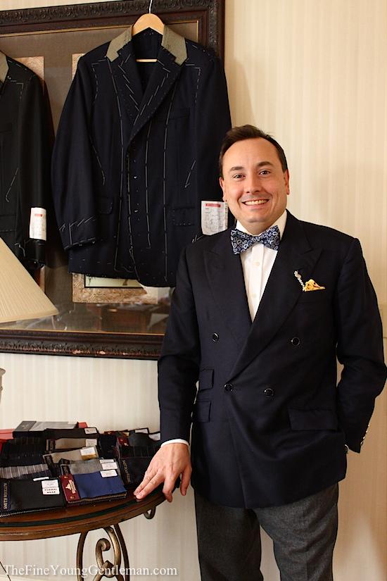 Steven Hitchcock tailor