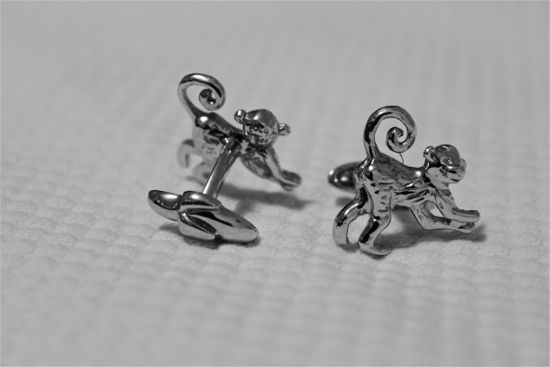 cufflinks without a jacket