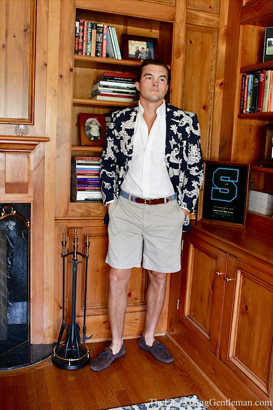 blazer with shorts