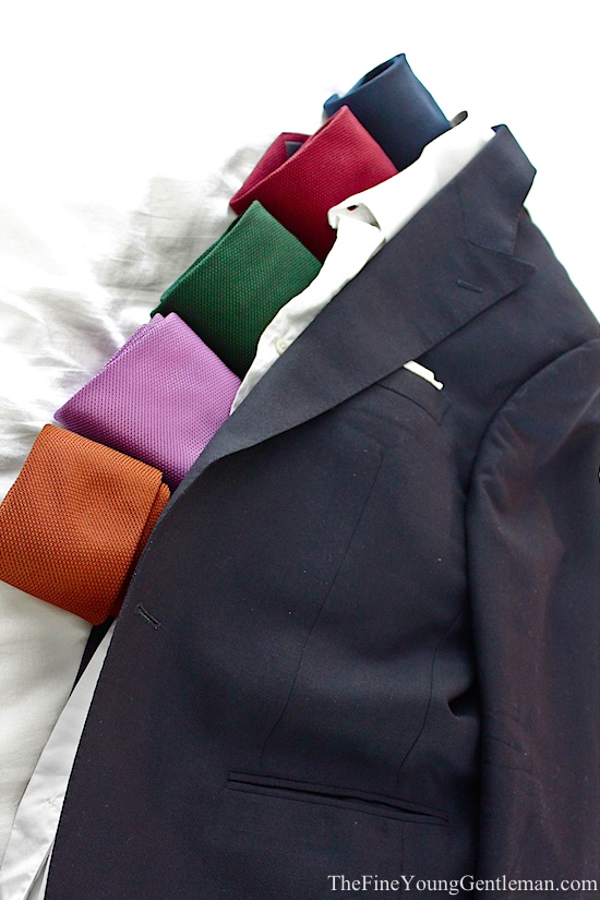 silk grenadine ties