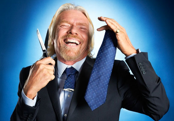 richard branson no ties