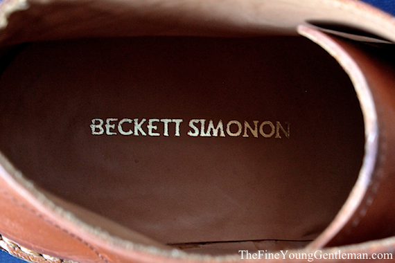 beckett simonan shoe review