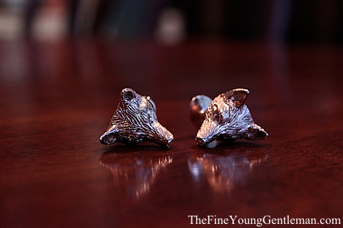 monsieur fox cufflink review