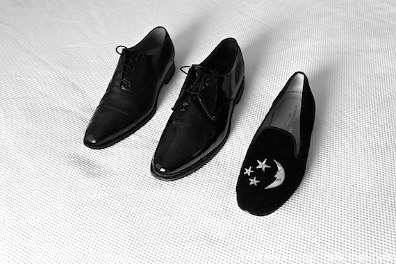 what shoes to wear with a tuxedo
