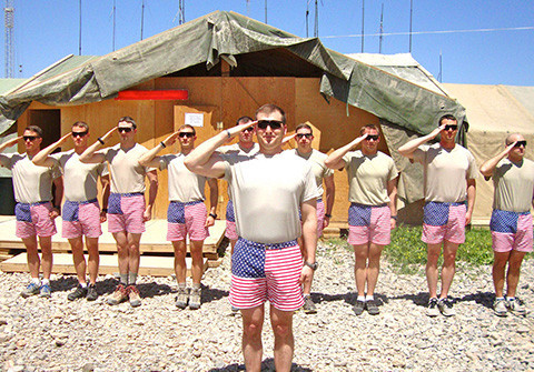 chubbies troop salute