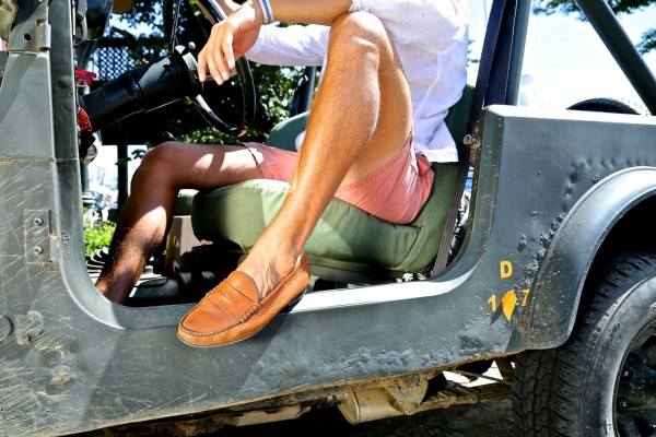 jay butler tan penny loafer jeep