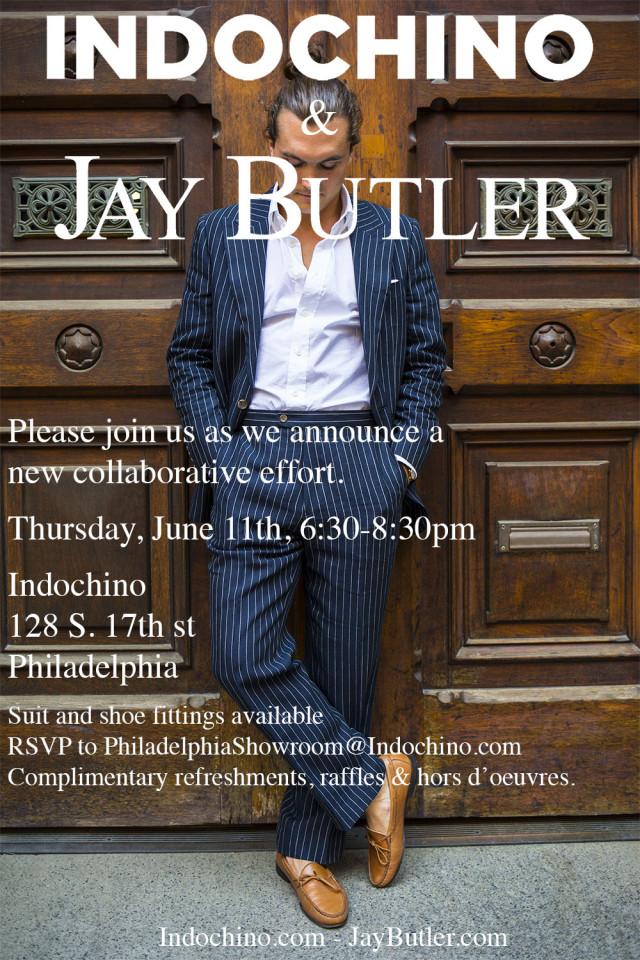 jay butler indochino event philadelphia